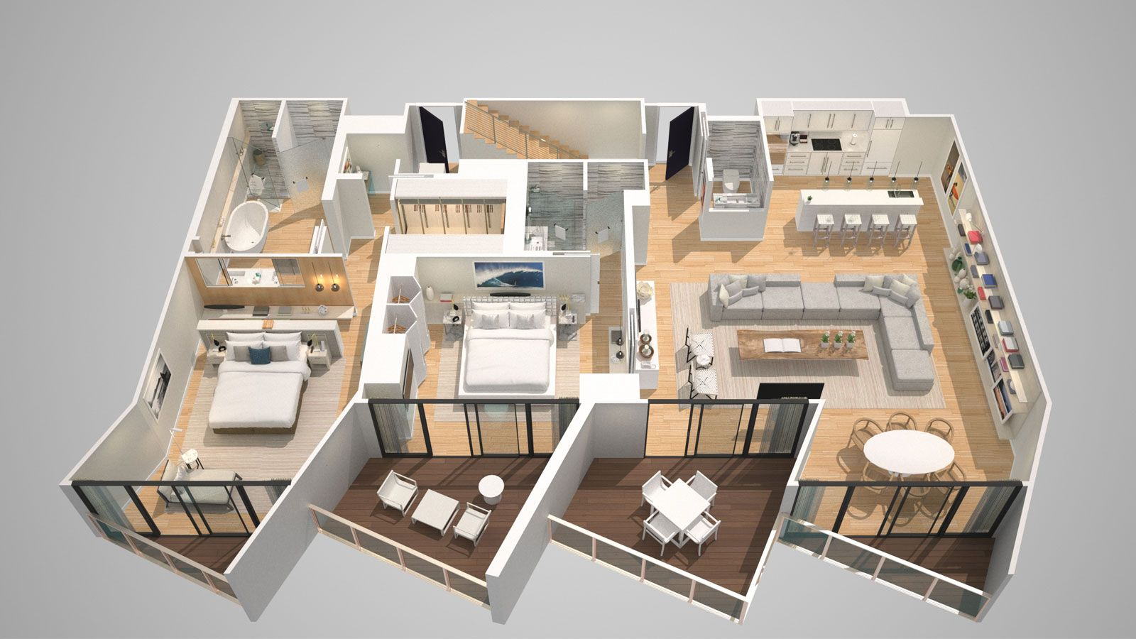 Free Bathroom Floor Plans E Wow Penthouse W South Beach